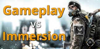 Bild Gameplay vs Immersion in The Division